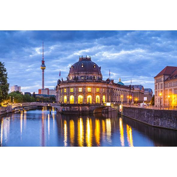 Städtetrip Berlin mit Fernsehturm Besuch für 2 (2 Tage)