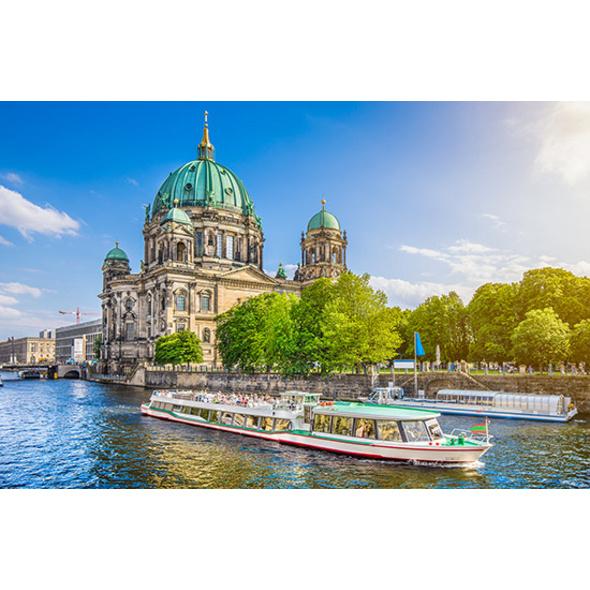 Städtetrip Berlin mit Spree Schifffahrt für 2 (2 Tage)