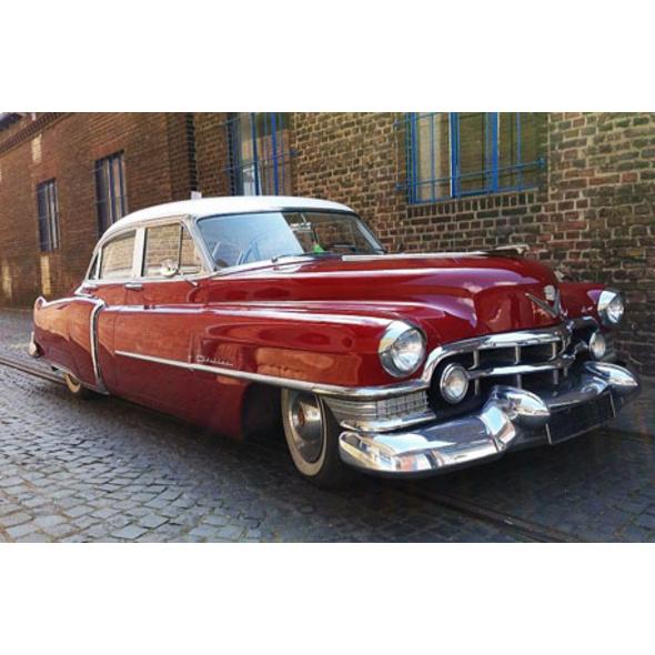Cadillac-Oldtimer fahren in Duesseldorf (2 Std.)