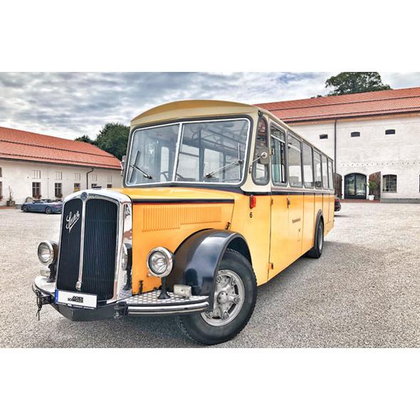 Genusstour im Oldtimer Bus durch Franken
