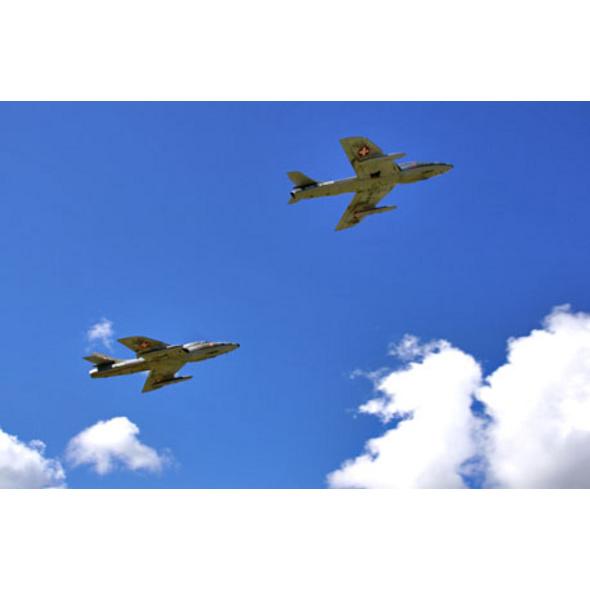 Hawker Hunter Flug
