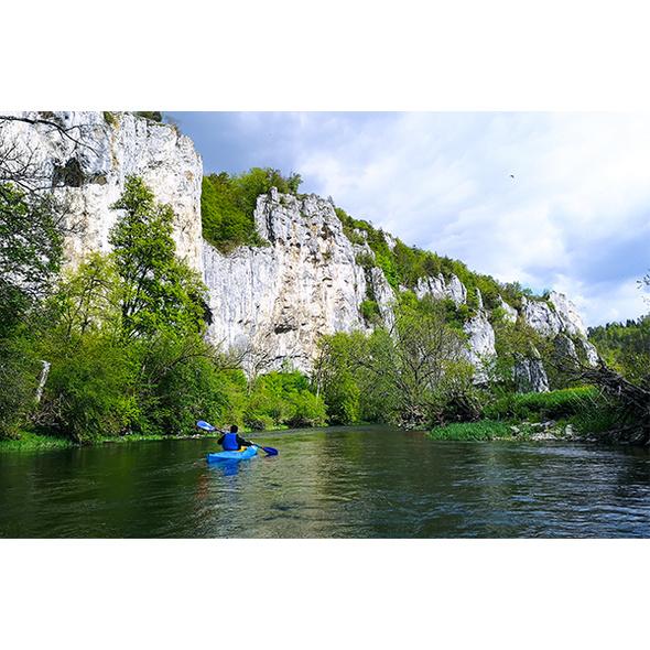Kanu Tour auf der Donau in Beuron für 2