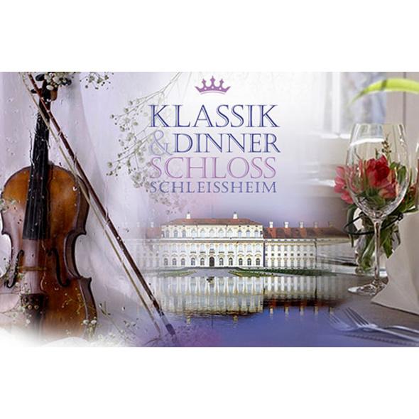 Konzert-Dinner im Schloss Schleissheim für 2