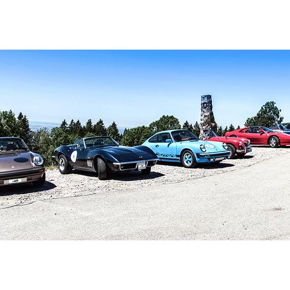 Oldtimer Rallye im Bayerischen Wald für 2
