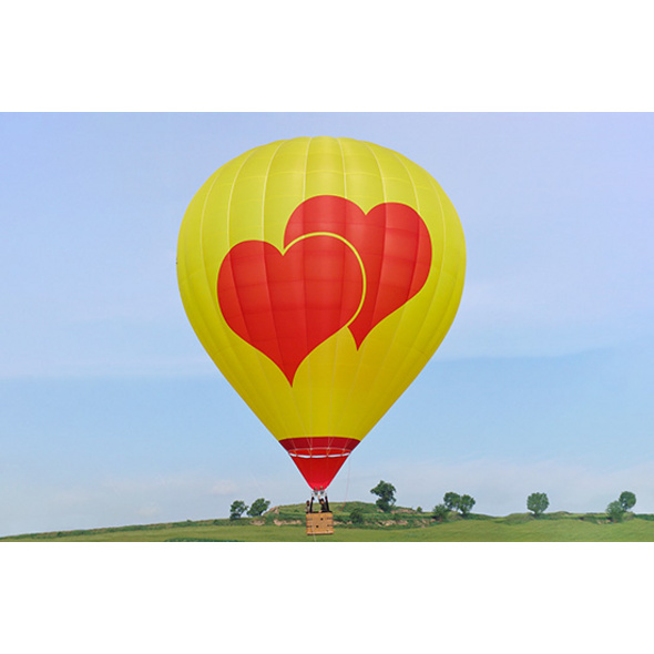 Romantische Ballonfahrt über die Rhoen für 2