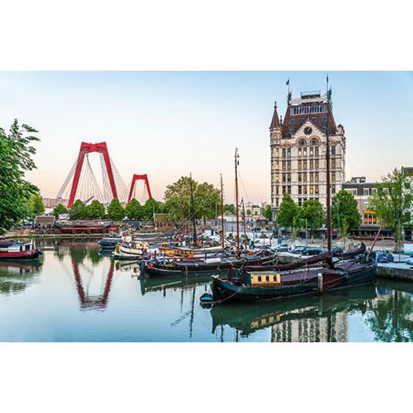 Städtetrip Rotterdam mit Hafenrundfahrt für 2 (2 Tage)