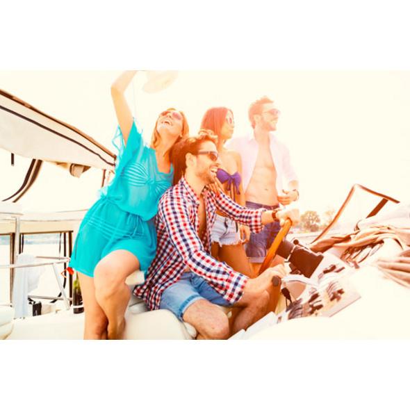 Luxusyacht-Tage auf Ibiza mit 2 Nächten an Bord für 6