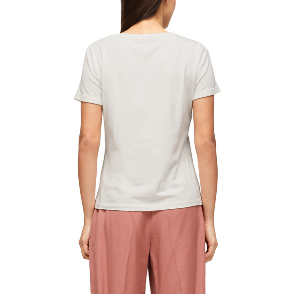 Modal-Shirt mit Frontprint - T-Shirt