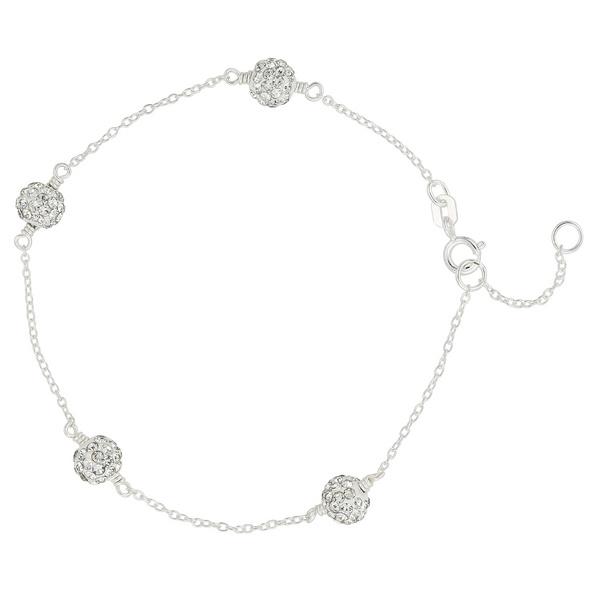 Armband - Silver Balls