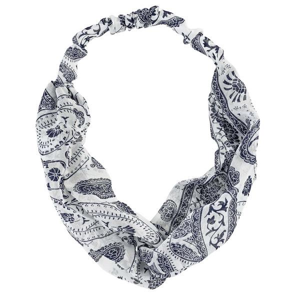 Haarband - Blue Print