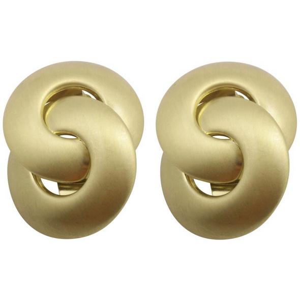 Ohrclips - Goldringe