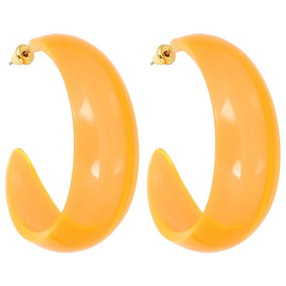 Creolen - Bright Orange