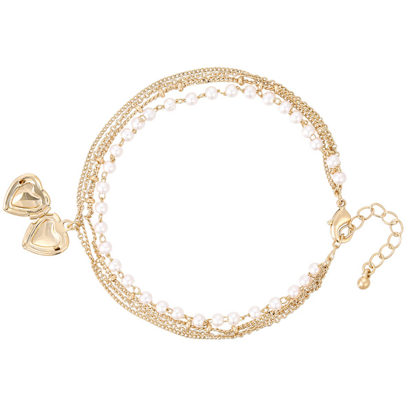 Armband - Layering Heart