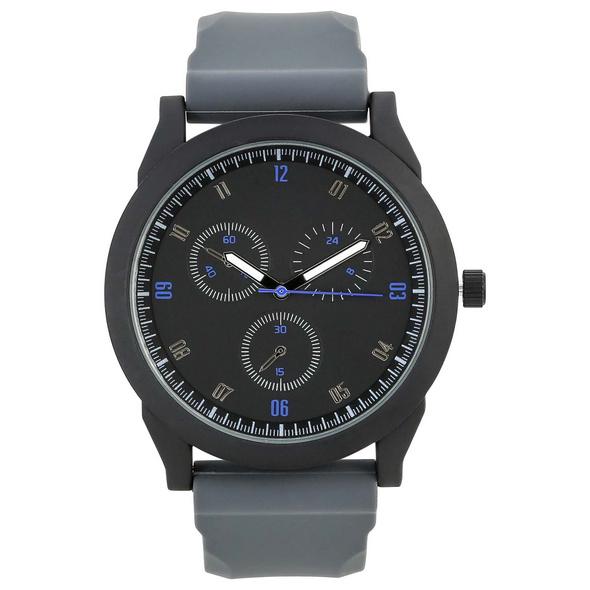 Uhr - Flexible Grey