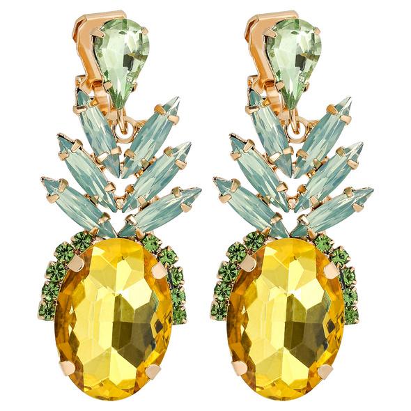 Ohrclips - Sweet Pineapple