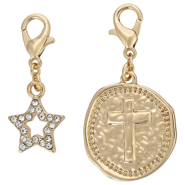 Charm Anhänger - Star Cross