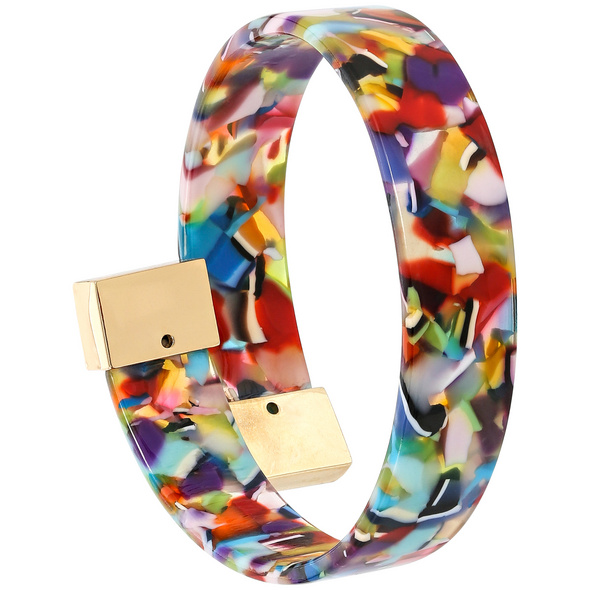 Armreif - Coloured Marble