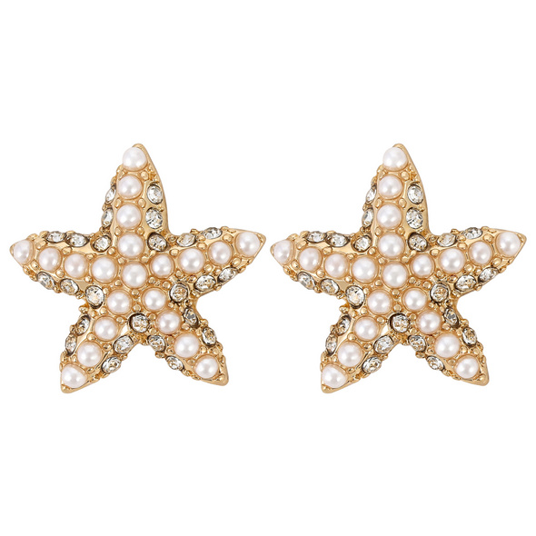 Ohrstecker - Pearl Stars