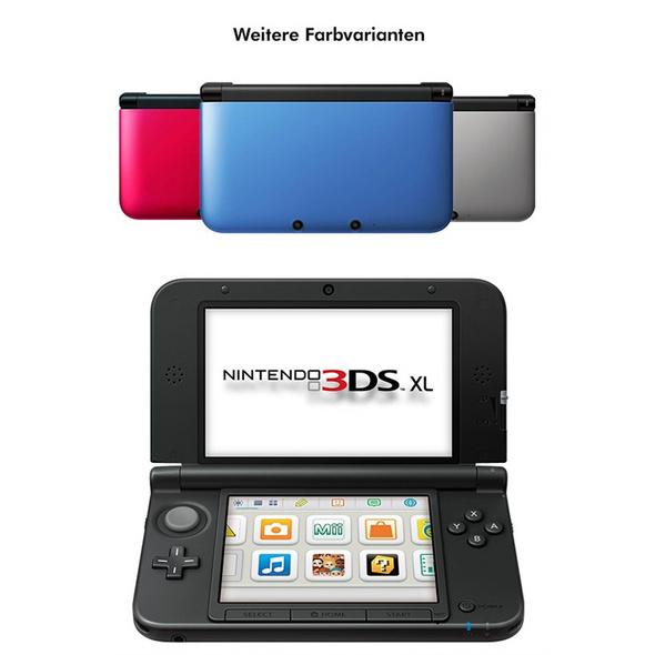 3DS XL Konsole (gebraucht)