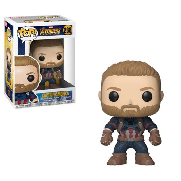 Marvel Avengers Infinity War - POP! Vinyl-Figur Captain America