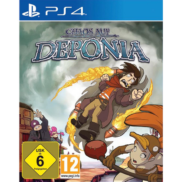 Chaos of Deponia