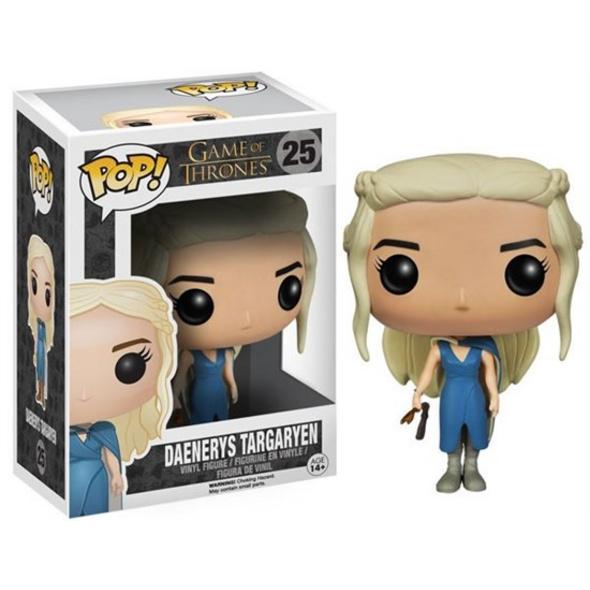 Game of Thrones - POP!-Vinyl Figur Daenerys Targaryen (blaues Kleid)