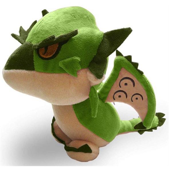 Monster Hunter World - Plüschfigur Rathalos grün