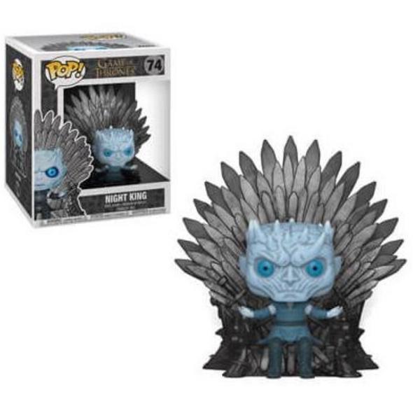 Game of Thrones - POP! Vinyl-Figur Nachtkönig auf dem Eisernen Thron
