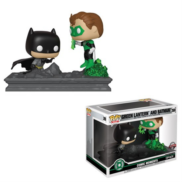 Green Lantern - POP!-Vinyl Figur Batman & Green Lantern