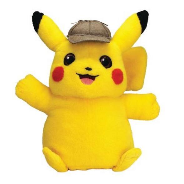 Pokémon - Plüschfigur Meisterdetektiv Pikachu