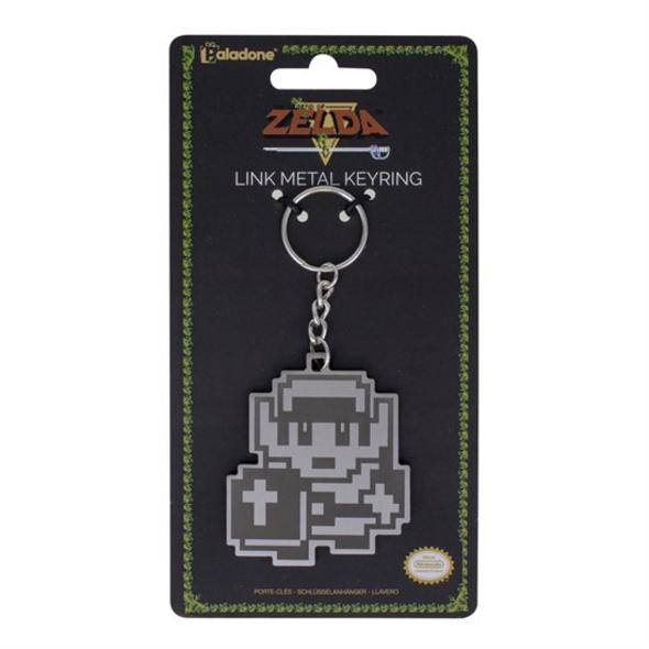 The Legend of Zelda - Schlüsselanhänger Metall 8-Bit Link