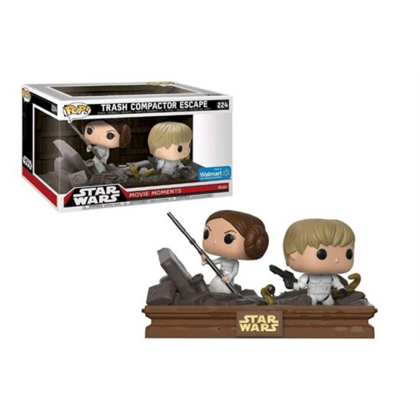 Star Wars - POP! Vinyl-Figur Trash Compactor Escape