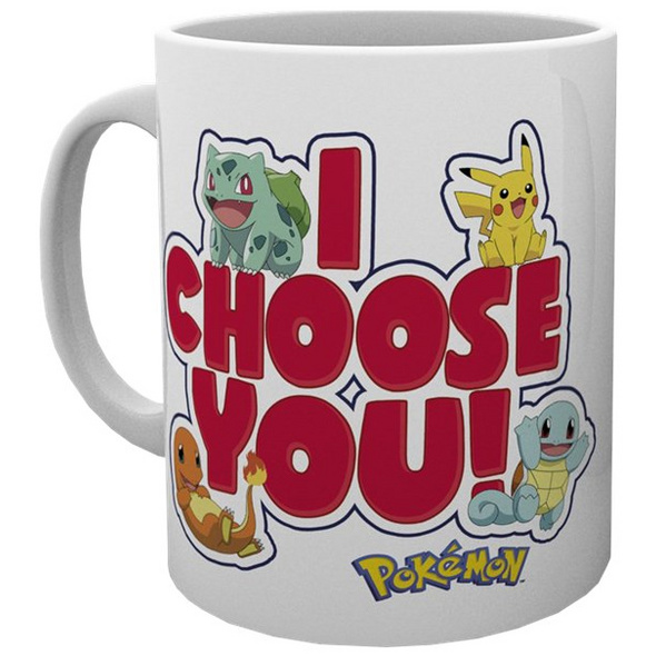 Pokémon - Tasse I choose you!