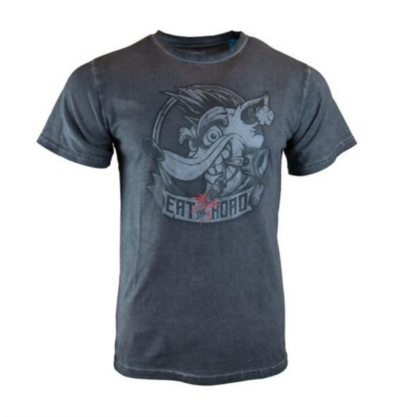 Crash Team Racing - T-Shirt Eat the Road (Größe M)