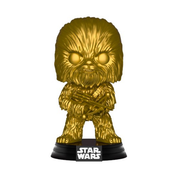 Star Wars - POP!-Vinyl Figur Chewbacca (Gold)