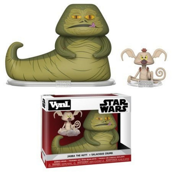 Star Wars - Vynl Figur Jabba & Salacious