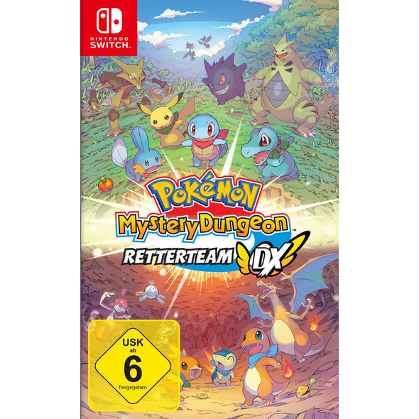 Pokémon Mystery Dungeon: Retterteam DX
