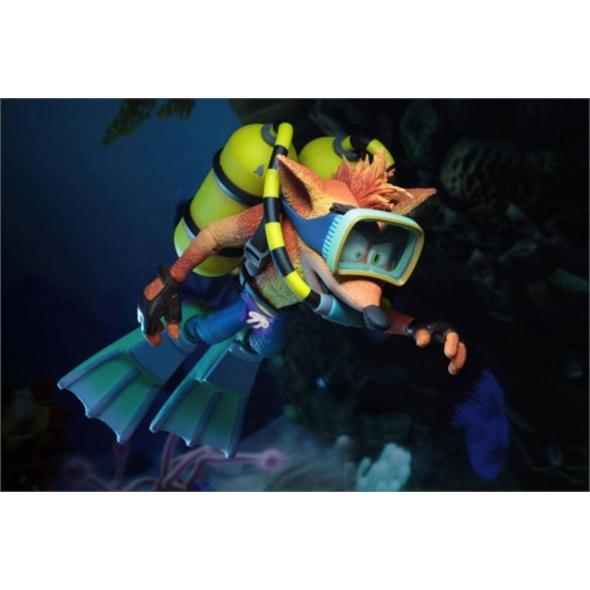 Crash Bandicoot - Actionfigur Taucher