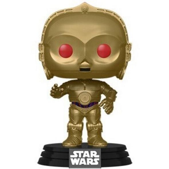 Star Wars: Episode IX  - POP!-Vinyl Figur C-3PO (rote Augen)