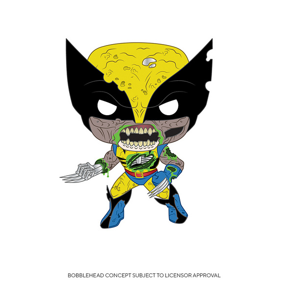 Marvel - POP!- Vinyl Figur Zombie Wolverine