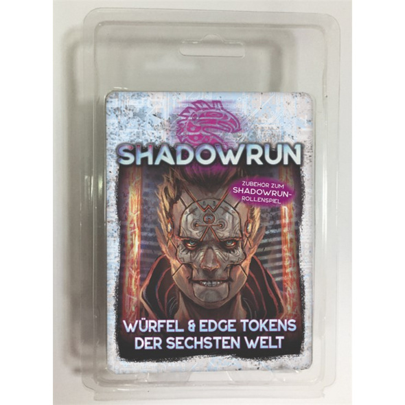 Shadowrun Würfel & Edge Tokens der Sechsten Welt