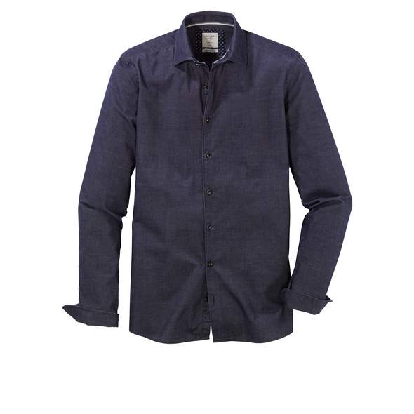 OLYMP Level Five Smart Casual Hemd, body fit, Kent