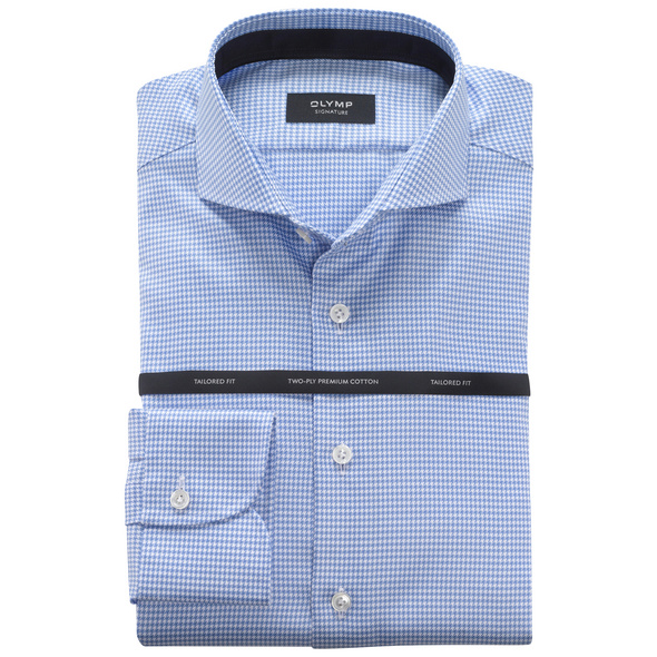 OLYMP SIGNATURE Hemd, tailored fit, Extra langer Arm