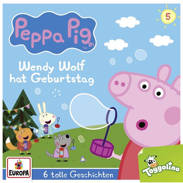 Peppa Pig Hörspiel 05. Wendy Wolf hat Geburtstag