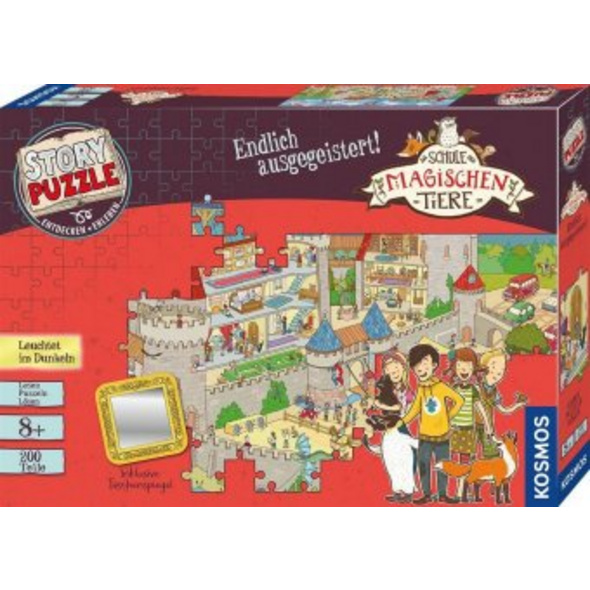 Schule der magischen Tiere - Story Puzzle: Endlich