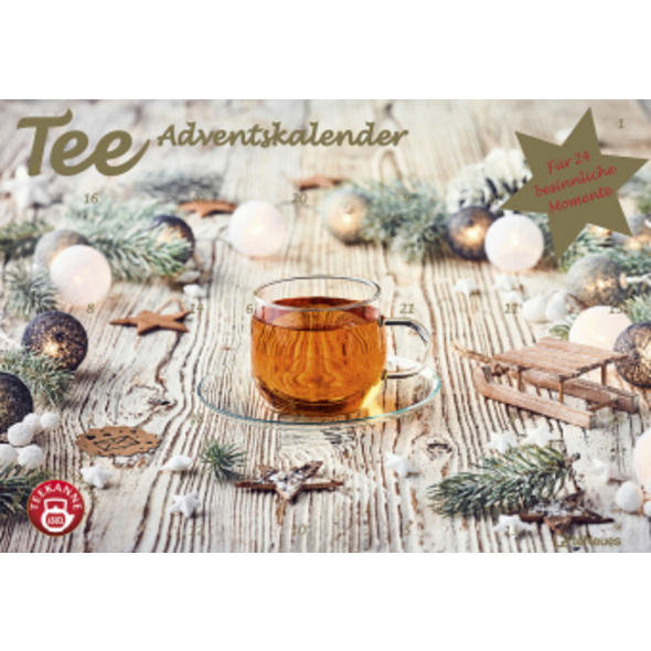 Tee-Adventskalender 2020 - Teekalender - Adventska