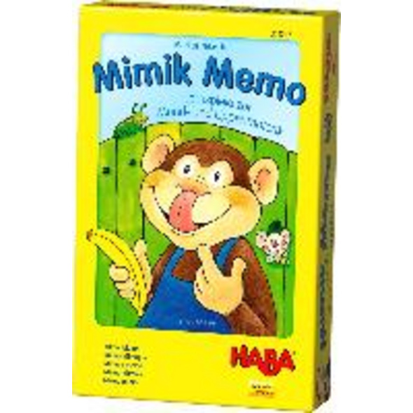 Mimik Memo - Lernspiele zur Mund- und Lippenmotori