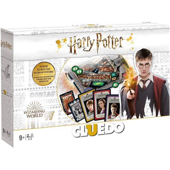 Cluedo Harry Potter Collectors Edition weiß  neues