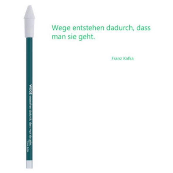 Bleistift grün, Franz Kafka