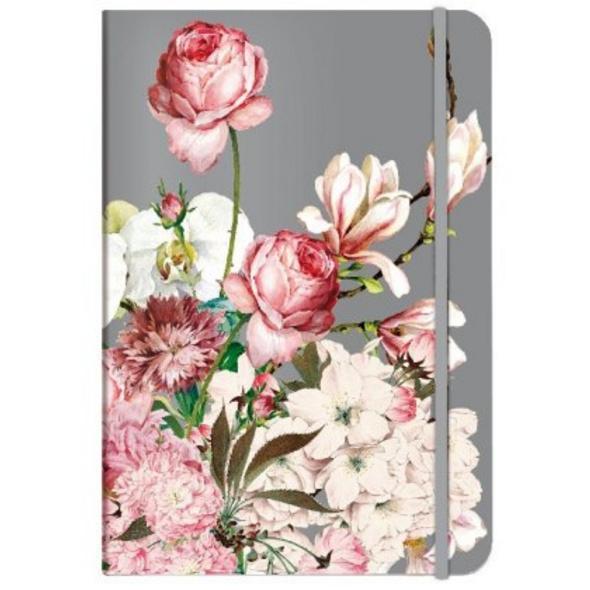 Notizbuch A5 Bouquet rose